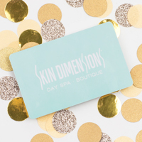 Skin Dimensions Gift Card